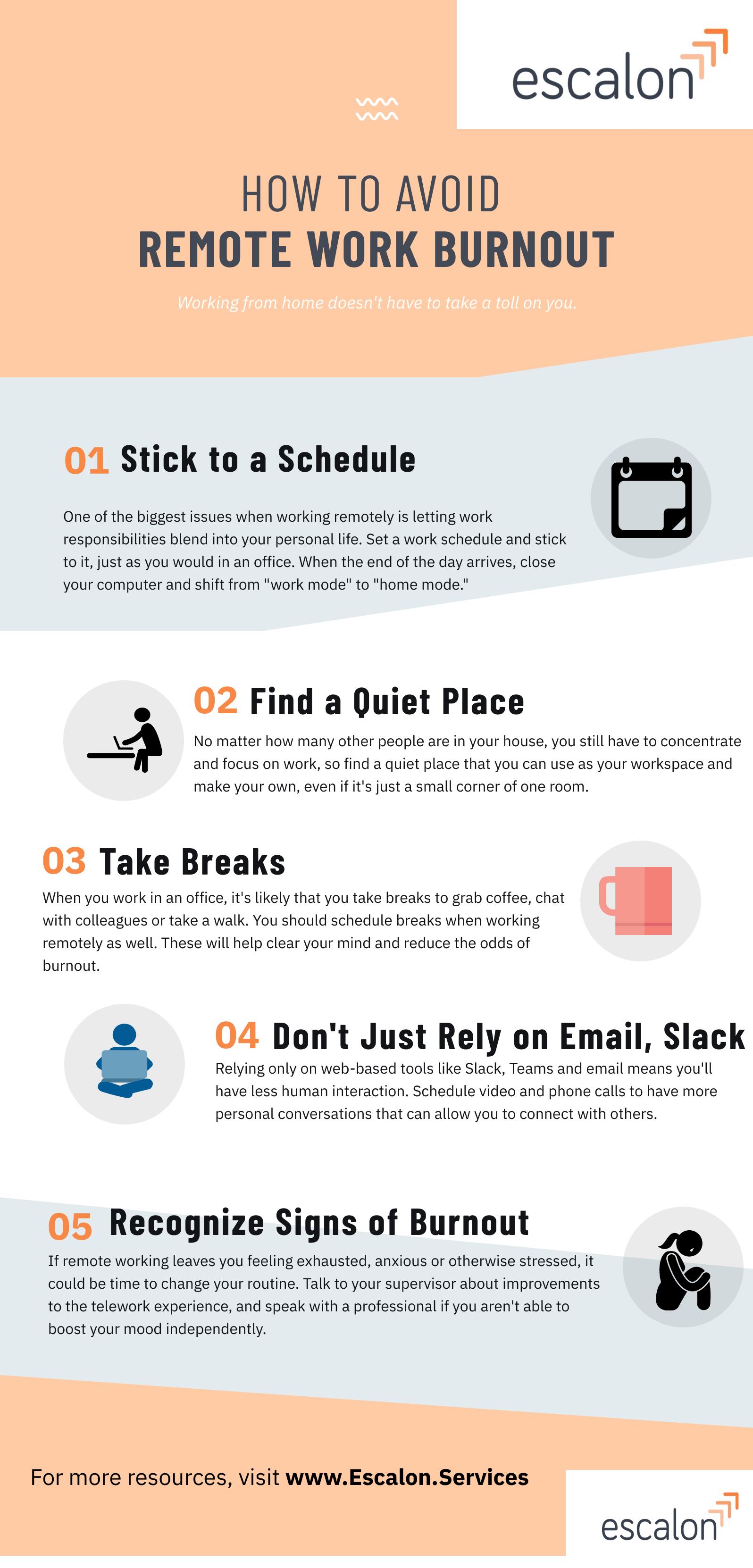 Avoid Remote work burnout
