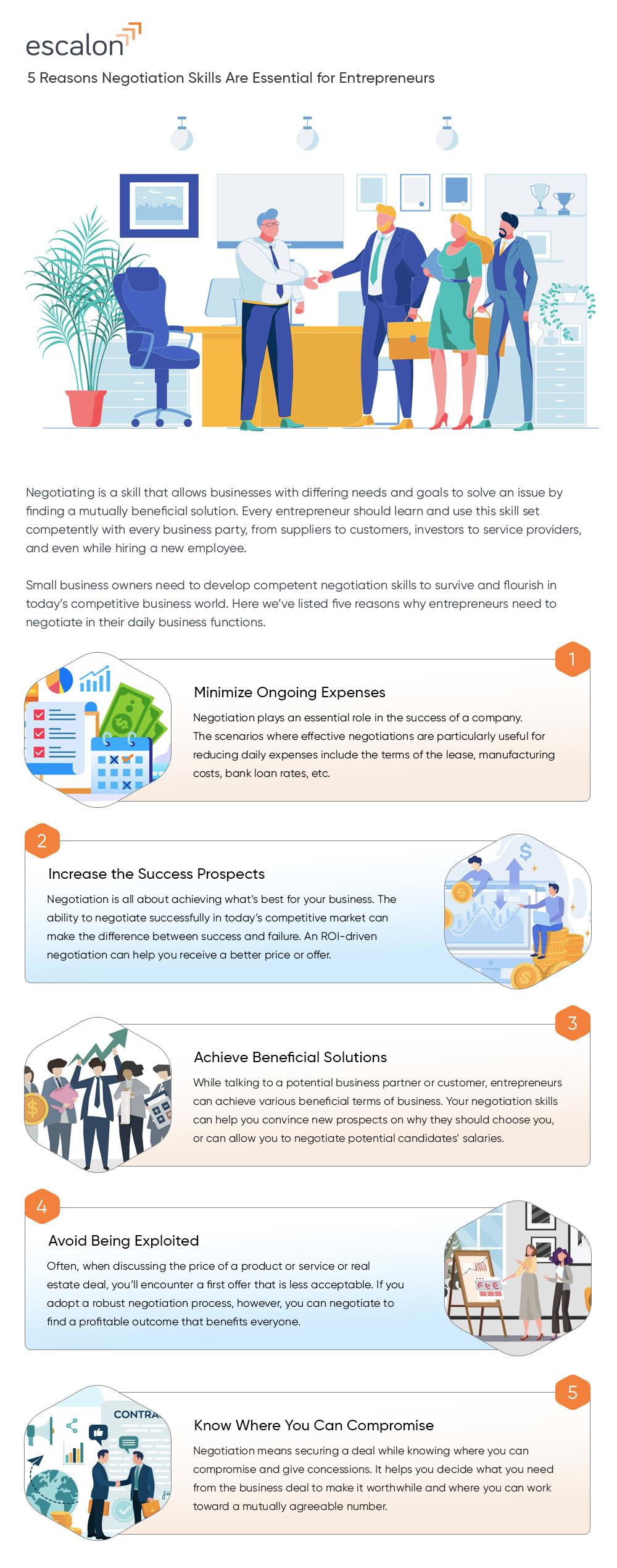 Essential negotiation skills for entrepreneurs